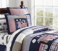 Toby Quilted Bedding | Pottery Barn Kids