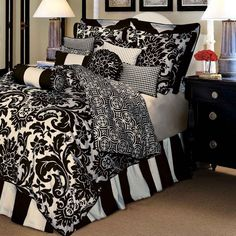 Black And White Duvet Covers-05   http://www.snowbedding.com/    Snow Bedding: Mulberry #Silk Filled #Duvet  #Quilt  #Comforter