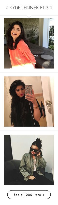 """""""☼ KYLiE JENNER PT.3 ☼"""" by itmclipper ❤ liked on Polyvore"""