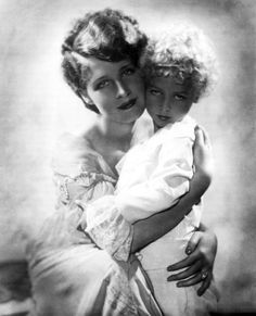 Norma Shearer with her son, Irving Thalberg Jr.