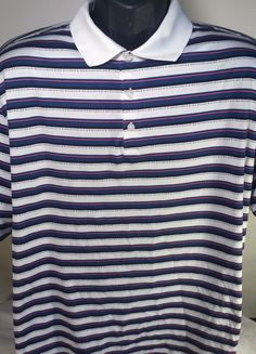 Tiger Woods Collection #Nike Dri Fit Mens Size XL Golf Polo Shirt #TigerWoodsCollection #PoloRugby