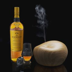 Afterwork time with The Macallan Edition Nº 3 and a humidifier to evaporate whisky