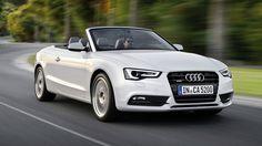 Audi A5 Convertible White