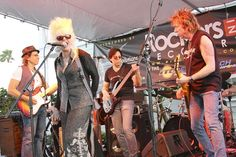 Performing: Ricky Byrd 2012 Rock and Roll Hall of Fame Nominee and Formerly of Joan Jett and the Blackhearts, Richie Supa (Aerosmith and Richie Sambora), Kasim Sulton (Todd Rundgren), Liberty DeVitto (Formerly - Billy Joel Band), Mark Stein (Vanilla Fudge), and Christine Ohlman (SNL Band). (Shantell Staib/courtesy / March 22, 2012)