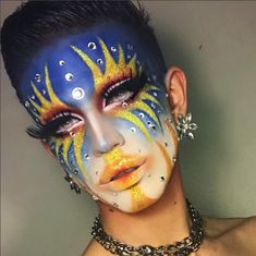 Drag Queen Makeup, Drag Makeup, Makeup Art, Beauty Makeup, Hair Makeup, Rupaul, Maquillage Horrible, Makeup Inspo, Makeup Inspiration