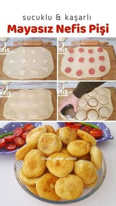 Easy Delicious Recipes, Yummy Food, Turkish Recipes, Nom Nom, Food And Drink, Bread, Cooking, Breakfast, Kitchen
