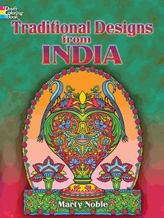 Intricate and inventive, these 30 full-page designs are drawn from the vibrant patterns that have adorned Indian clothing and decorative objects for centuries. Motifs include birds and animals, folkloric characters, more.