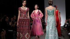 Sfilate Alta Moda Roma gennaio 2014: l'esotismo raffinato di Curiel Couture