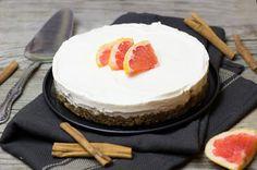 Zimt-Grapefruit-Törtchen *nobake* Dessert Aux Fruits, Dessert Food, Vegan Cheesecake, Mets, No Bake Desserts, Grapefruit, Dairy Free, Muffins, Baking