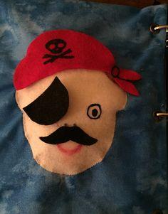 My Quiet Book - Boy, page Pirate