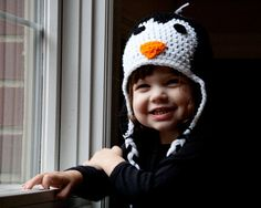 Baby Penguin Hat Phtoto Prop Newborn to 12 by conniemariepfost, $25.00