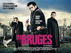 """IN BRUGES (2008): """"Maybe that's what hell is: The entire rest of eternity spent in effin' Bruges."""" Cinema has given us few vacationers as reluctant as Ray (Colin Farrell), an Irish hit man lying low in Belgium's most picturesque city. With its gentle, touristy beauty, the medieval town makes an unlikely setting for Martin McDonagh's darkly comic tale of mob justice—which, of course, only makes it funnier."""