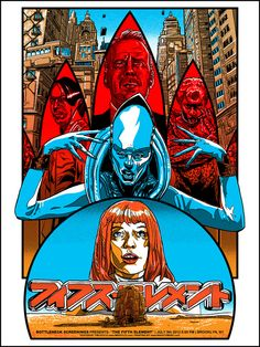 The Fifth Element by Tim Doyle / Tumblr / Store