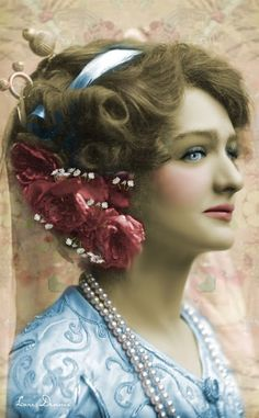 vintage tinted photos | Vintage color :: Miss_Lily_Elsie | Tinted Photos