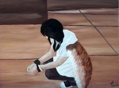 cricar.com | Pendant ces annees, oil on canvas painting by Carmen Cristea