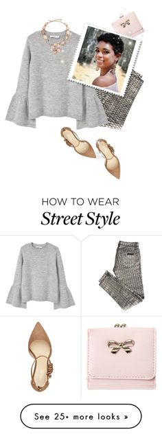 """street  style"" by janemichaud-ipod on Polyvore featuring sass & bide, MANGO, Oscar de la Renta and Nine West"