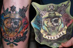 Halo Tattoo - OVERKILL! https://www.facebook.com/diplyofficial