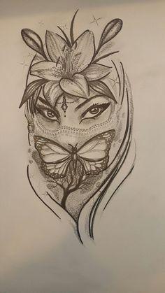 Girl Leg Tattoos, Black Girls With Tattoos, Red Ink Tattoos, Dope Tattoos, Sleeve Tattoos For Women, Body Art Tattoos, Hand Tattoos, Paisley Tattoos, Modern Tattoos
