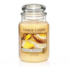 Banana Cream Pie Yankee candle - love the candle and the air freshener is in my car now, smells so good