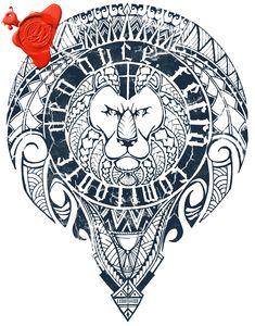 deusvolent#Done #LovingIt #deltoid #tattoo #design #selfmade #Handdrawn #tribal…