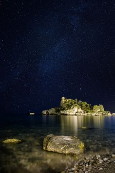 Photo Isola Bella under the stars by Marco Calandra -  MC Photography on 500px