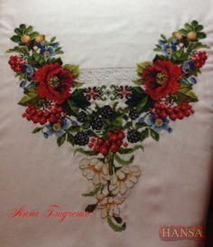 Gallery.ru / Фото #1 - Новый процесс- женская вышиванка. - Hansa