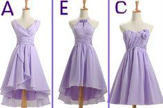 Custom made Bridesmaid Dress purple by GoldenBridalsDresses, $59.00