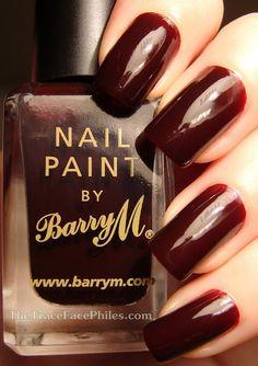 Barry M Red Black