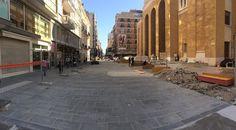 Bari restyling via Sparano: avviati i lavori di rifacimento del quinto isolato