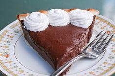 Chocolate Pie. I'm craving chocolate today...