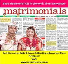 THE ECONOMIC TIMES; HELPS YOU FIND THE SUITABLE PARTNER Online Advertising, Advertising Agency, Times Newspaper, Economic Times, Better Half, This Or That Questions, Blog, Blogging