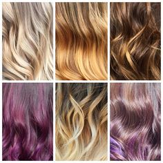 Balayage flavours are endless  been doing so much lately! Loving the options  #balayage #blondehair #hairpainting #torontohairstylist #torontohairsalon #hair #proudestpony #pravana