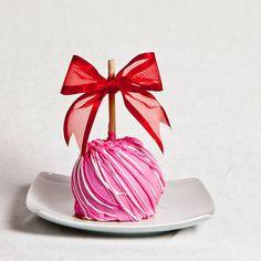 Besó a fresa manzana caramelo por BigBearChocolates en Etsy
