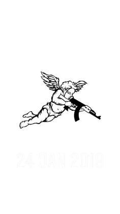 Angel Tattoo Designs, Tattoo Designs Men, Tattoo Design Drawings, Tattoo Sketches, Forearm Tattoos, Hand Tattoos, Future Tattoos, Tattoos For Guys, Black Tattoos