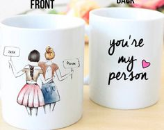 Valentines Gift Valentines Mug Bestie mug Bff by Sammieslettering