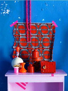 Africa meets neon - Photo : Irina Graewe - Interiors editor stylist