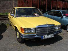 #Mercedes W116 S Class