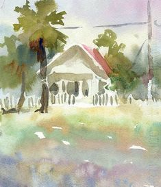How to loosen up your watercolor painting