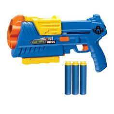 Air Warriors Air Max Boss Dart Blaster, Blue