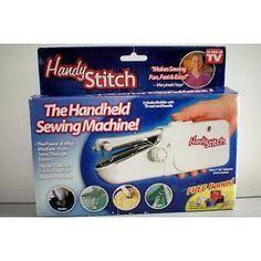 As Seen on TV Handy Stitch Mechanical Sewing Machine 037431203526   eBay