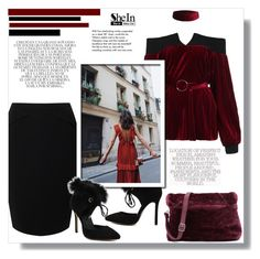 """""""SheIn"""" by aminkicakloko ❤ liked on Polyvore featuring Jacques Vert, Whiteley and Tiffany & Co."""