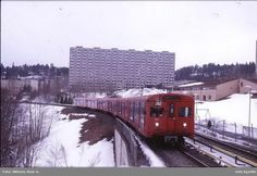T-banevogn serie i tog… Oslo, Norway, Train, Outdoor, Pictures, Outdoors, Outdoor Games, The Great Outdoors, Strollers