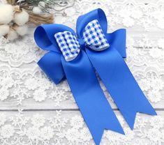 GINGHAM Ribbon Hair Bows School Wedding Crafts Full Reels or Bows
