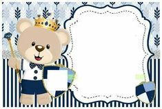 Customized card for all relatives Baby Boy Scrapbook, Christmas Board Decoration, Baby Girl Quotes, Baby Frame, Baby Shower Niño, Baby Shower Invitation Cards, Bear Theme, Baby Shower Invitaciones, Baby Shawer