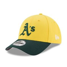 Oakland Athletics New Era Youth 2017 Players Weekend 9FORTY Adjustable Hat - Yellow