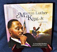 Let's Celebrate: Martin Luther King, Jr. J. Woodson Illustrated Hardcover VGUC