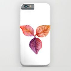 Leaves iPhone Case by paolavazquez Watercolor Print, Watercolor Paintings, Autumn, Fall, Collage Art, Aqua, Iphone Cases, Leaves, Colorful