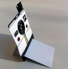 polaroid cards via byksenia on etsy