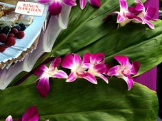 In Hawaii, we celebrate special occasions with bright flowers and beautiful Ti leaves, which symbolize good luck or fortune. What do you have to celebrate? Kings Hawaiian, Bright Flowers, Big Island, Kauai, Special Occasion, Leaves, Memories, Entertaining, Beautiful