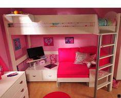 Casa 4 Highsleeper Bed Childrens Beds Bedroom Girl S Rooms